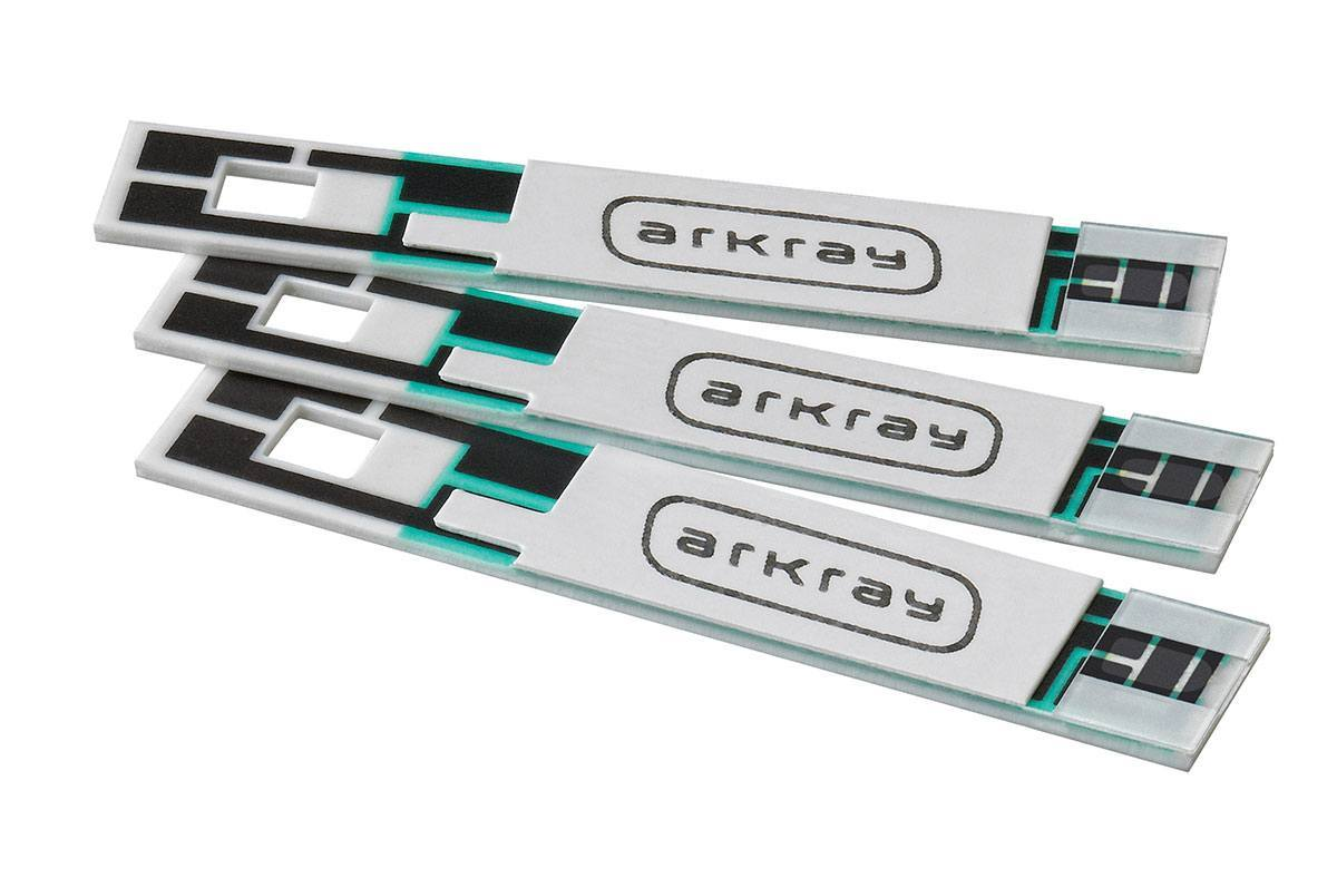 Arkray Glucocard Vital Blood Glucose Test Strips, 760050, Box of 50