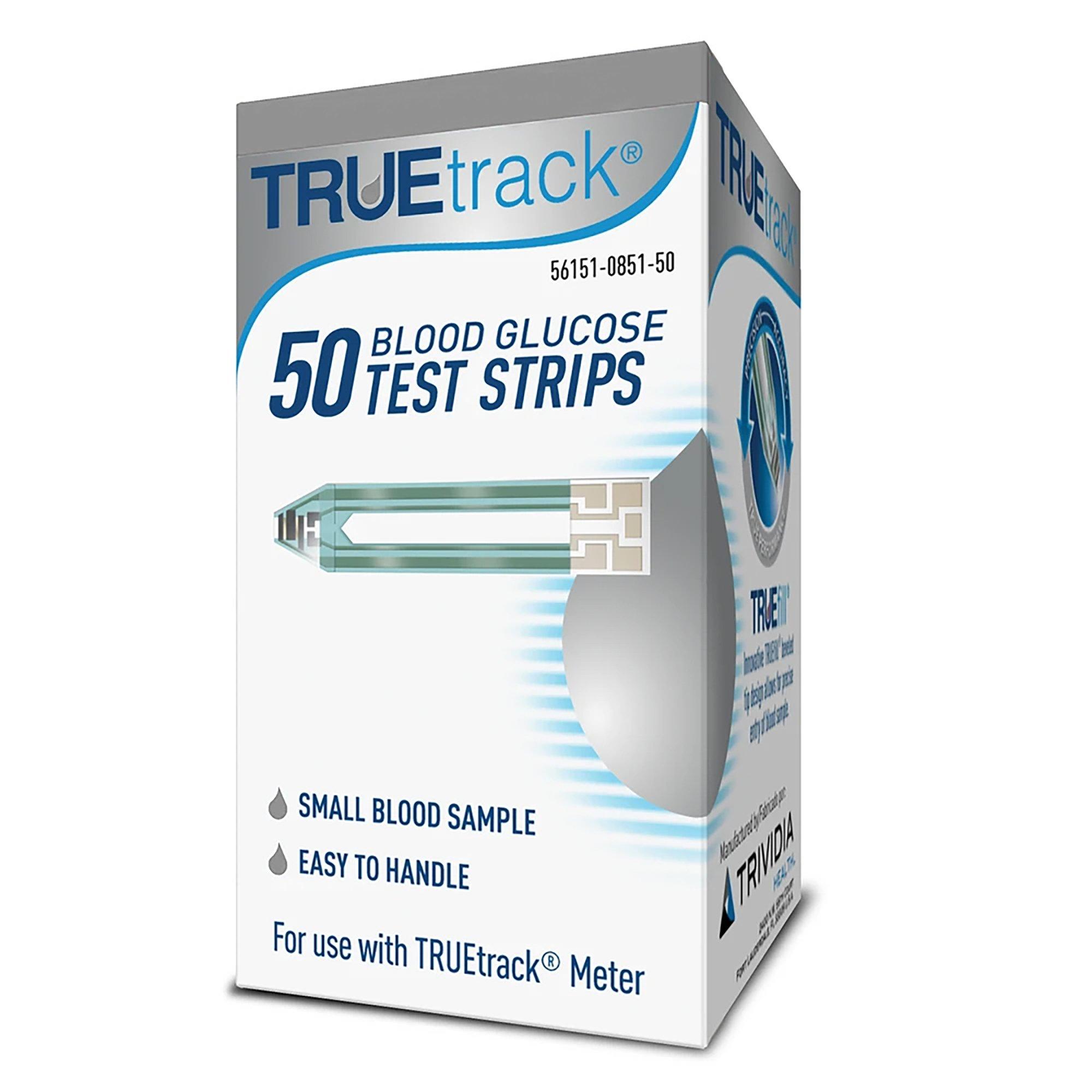 TRUETrack Blood Glucose Test Strips, A3H01-87, TRUEtrack Blood Glucose Test Strips