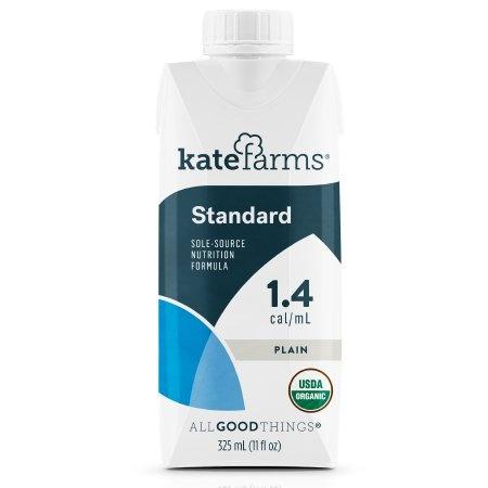 Kate Farms Standard Nutrition Formula, Plain