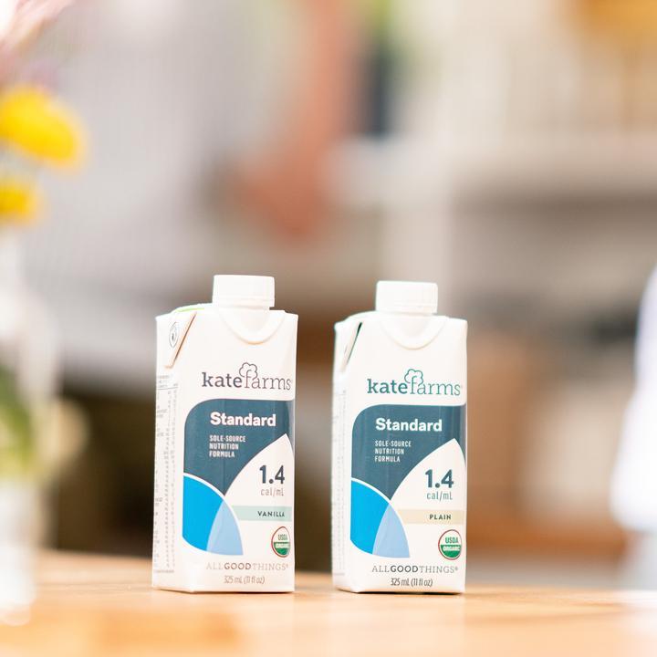 Kate Farms Standard 1.4 Sole-Source Nutrition Formula, Plain, 11 oz., 811112030027