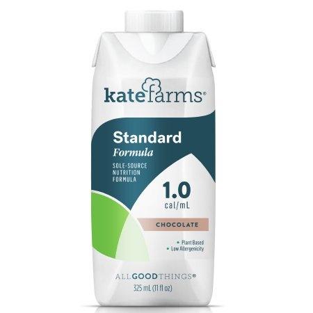 Kate Farms Standard 1.0 Sole-Source Nutrition Formula, Chocolate, 11 oz., 851823006690, 1 Each