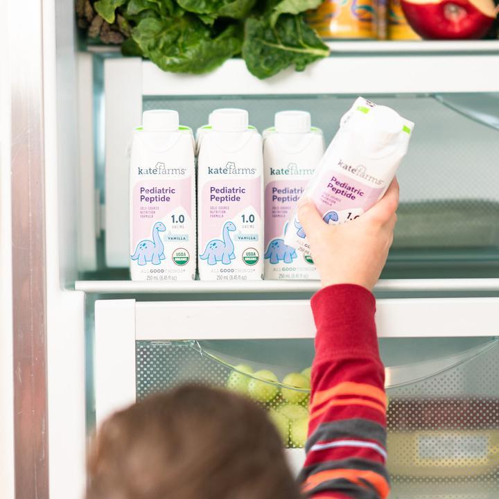 Kate Farms Pediatric Peptide Nutrition Facts