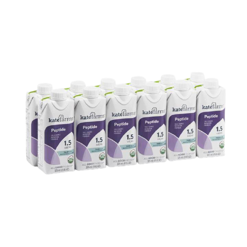 Kate Farms Peptide 1.5 Sole-Source Nutrition Formula, Vanilla, 11 oz., 851823006386, Case of 12