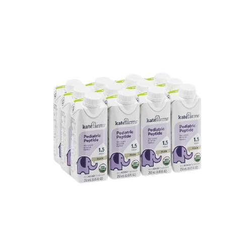 Kate Farms Pediatric Peptide 1.5 Sole-Source Nutrition Formula, Plain