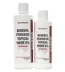 Harris Pharmaceuticals Benzoyl Peroxide Topical Wash, 5 oz., 67405082505, 5% Strength - 1 Each