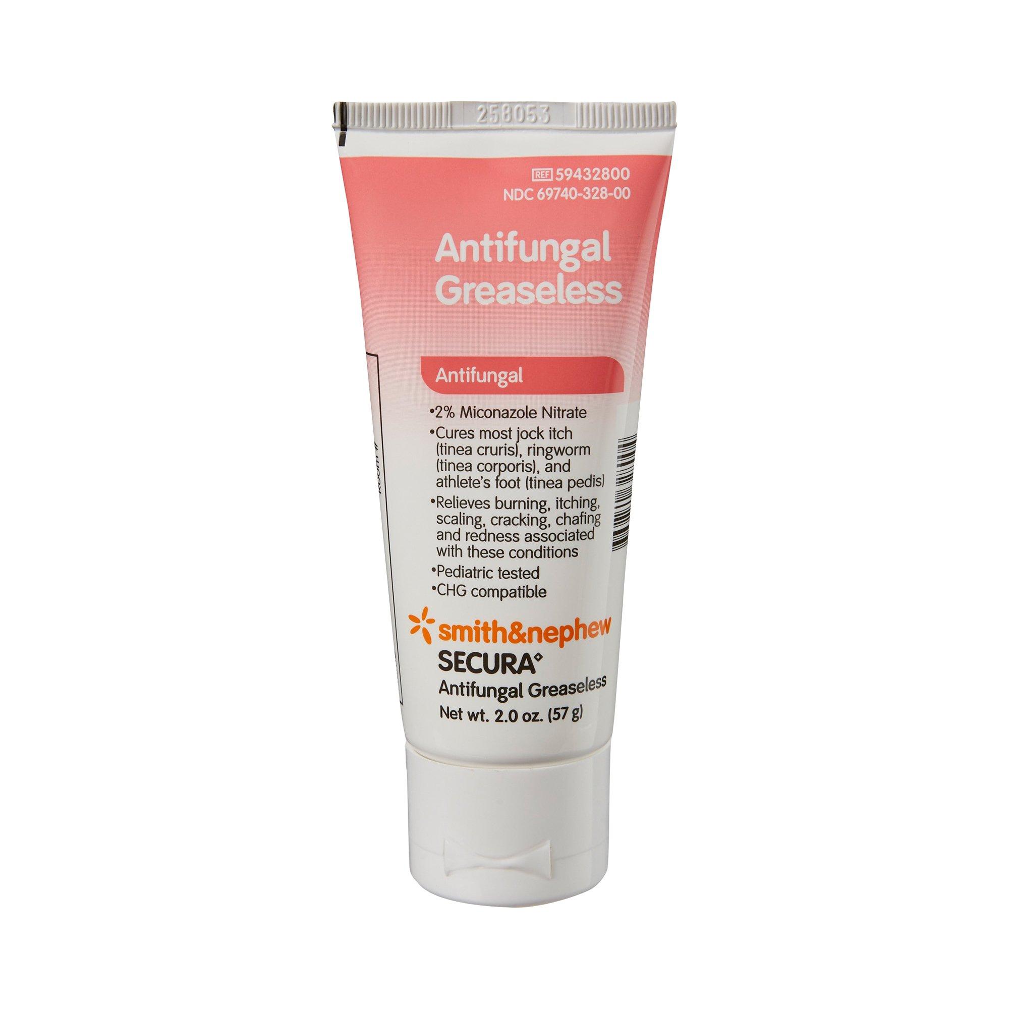 Secura Antifungal Greaseless Cream, 59432800, 2 oz. - 1 Each