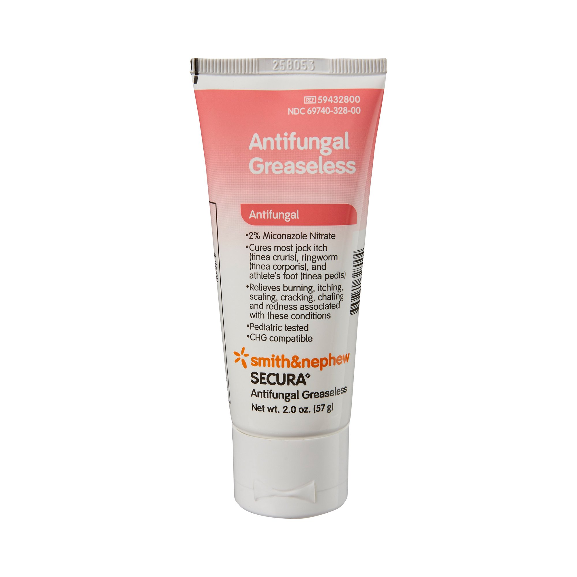Secura Antifungal Greaseless Cream, 59432800, 2 oz. - Case of 12