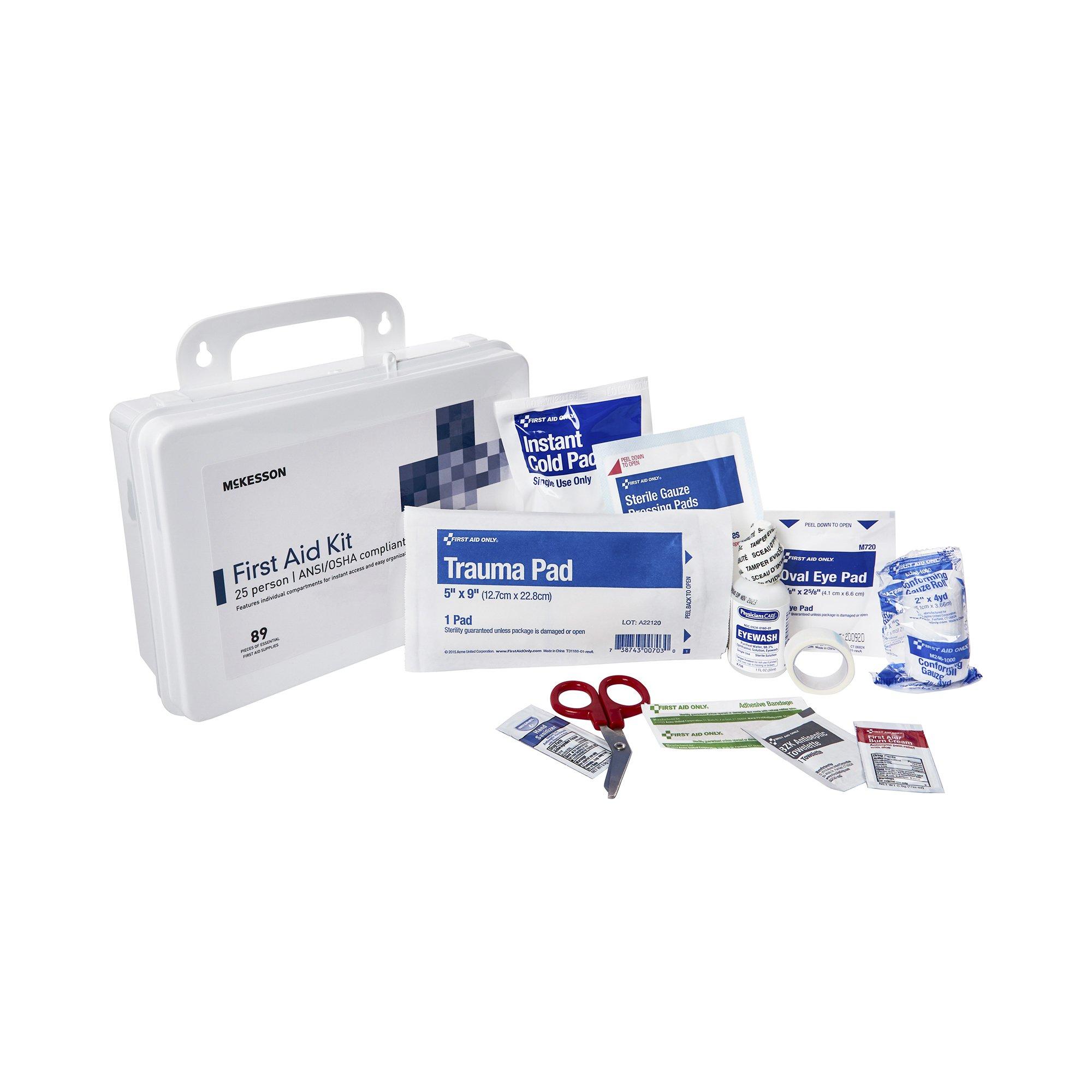 McKesson 25 Person First Aid Kit , 30323, 1 Each