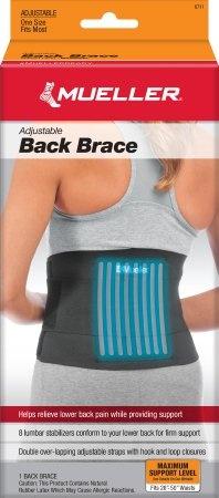 Mueller Adjustable Back Brace, 6711, 1 Each