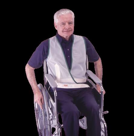 Posey Vest Restraint Criss Cross Straps, 2-Strap, 3311M, Medium - 1 Each