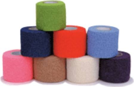 """CoFlex Med Cohesive Bandage, 2"""" x 5 yds, 7200NP, Neon Pink - Case of 36"""