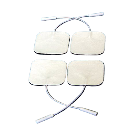McKesson Replacement TENS Electrodes For All TENS and EMS Use, 78667, Pack of 4