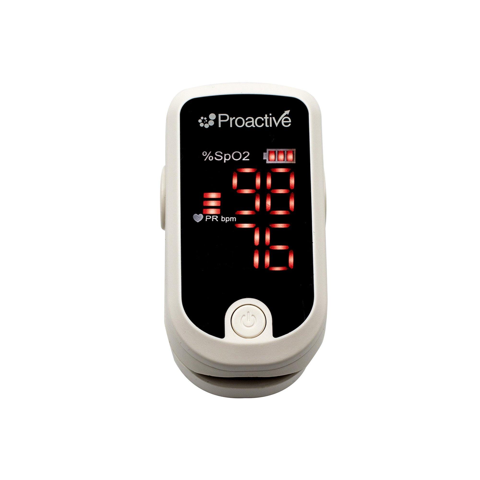 Proactive Fingertip Pulse Oximeter, 20110, 1 Each