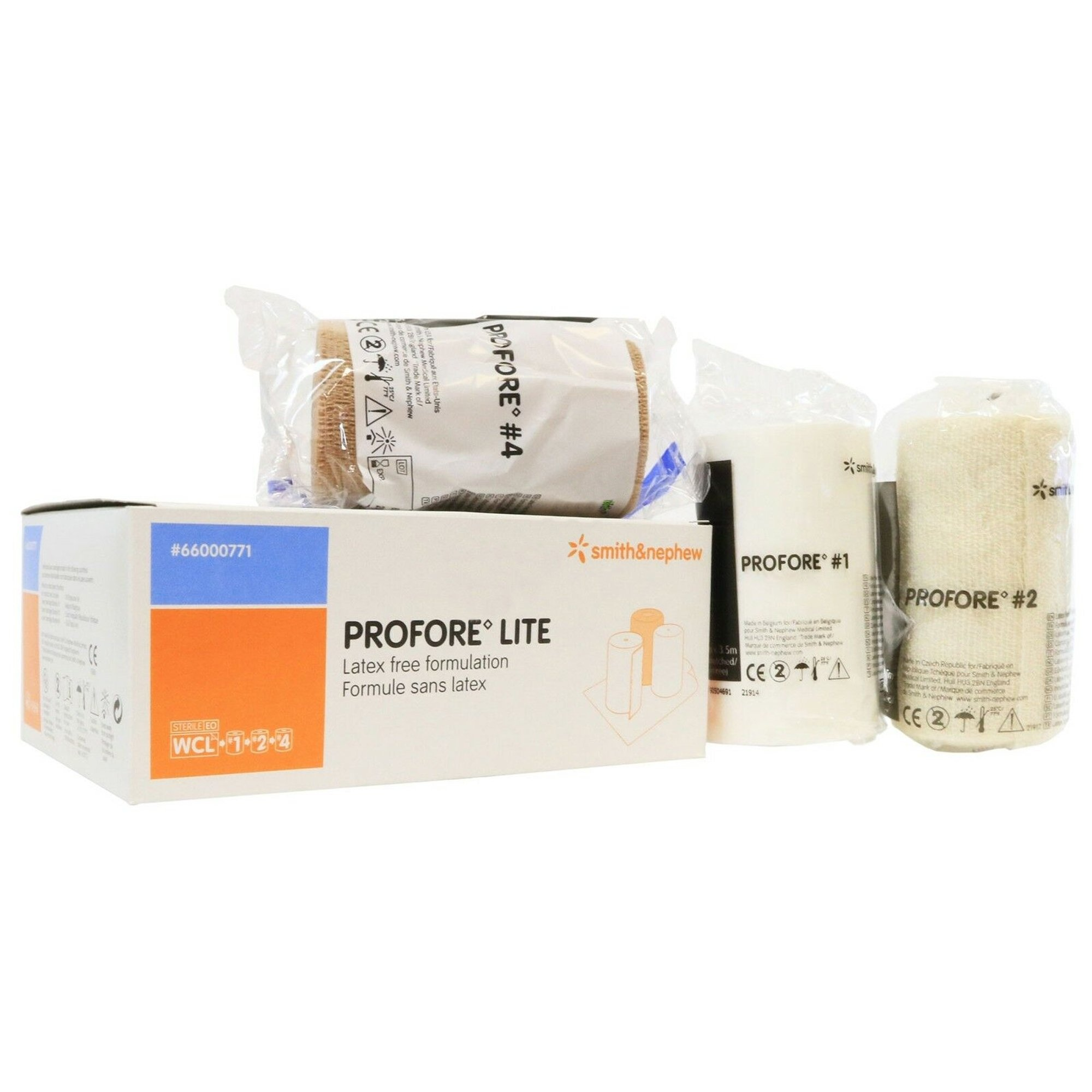 Smith & Nephew Profore Lite 3-Layer Compression Bandage System, 66000771, 1 Pack