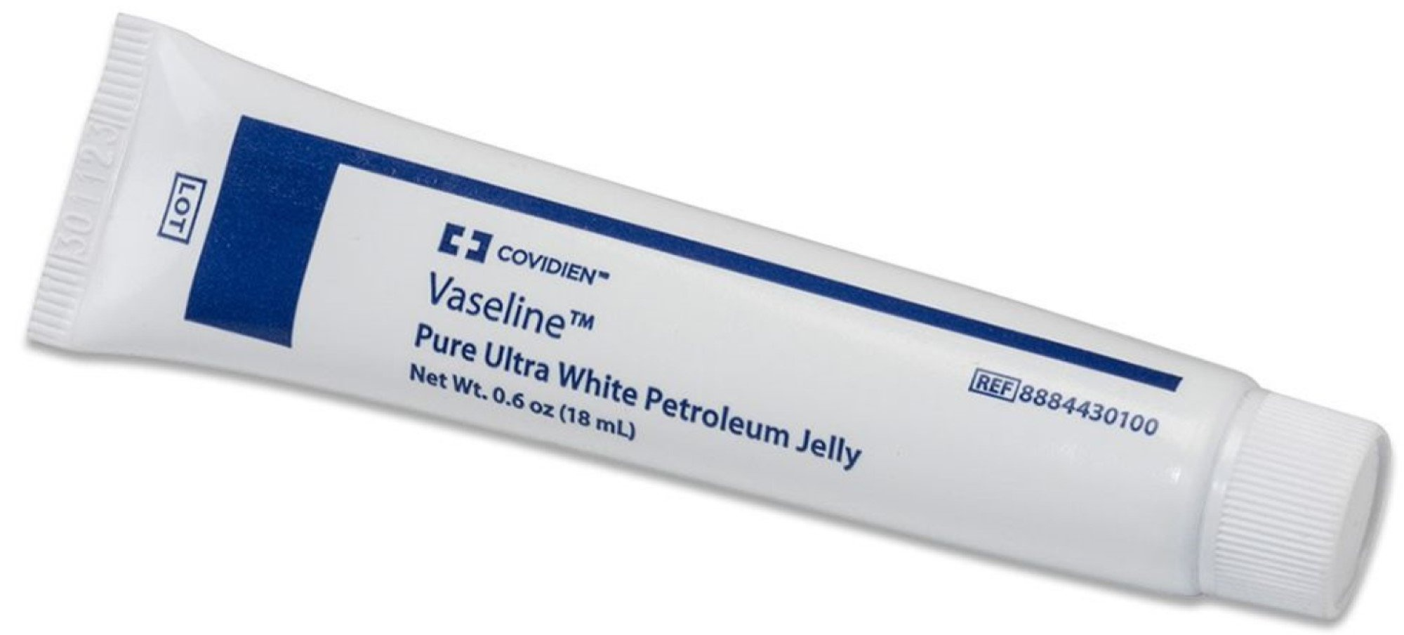 Covidien Vaseline Petroleum Jelly, 8884430200, 1 oz. - Pack of 12