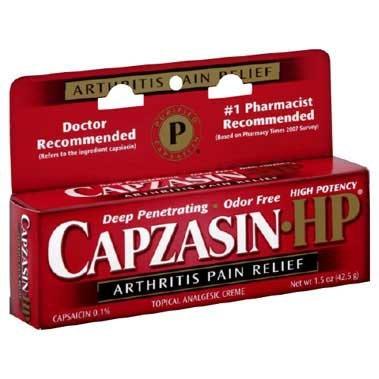 Capzasin-HP Arthritis Paint Relief Topical Analgesic Creme, 1.5 oz., 41167075142, 1 Each