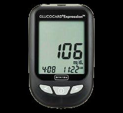 Glucocard Expresson Blood Glucose Meter Kit, 571100, 1 Each