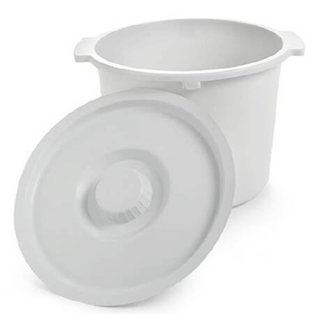 Invacare Commode Pail, For Use With Commodes, 12 qt, 6317, 1 Each