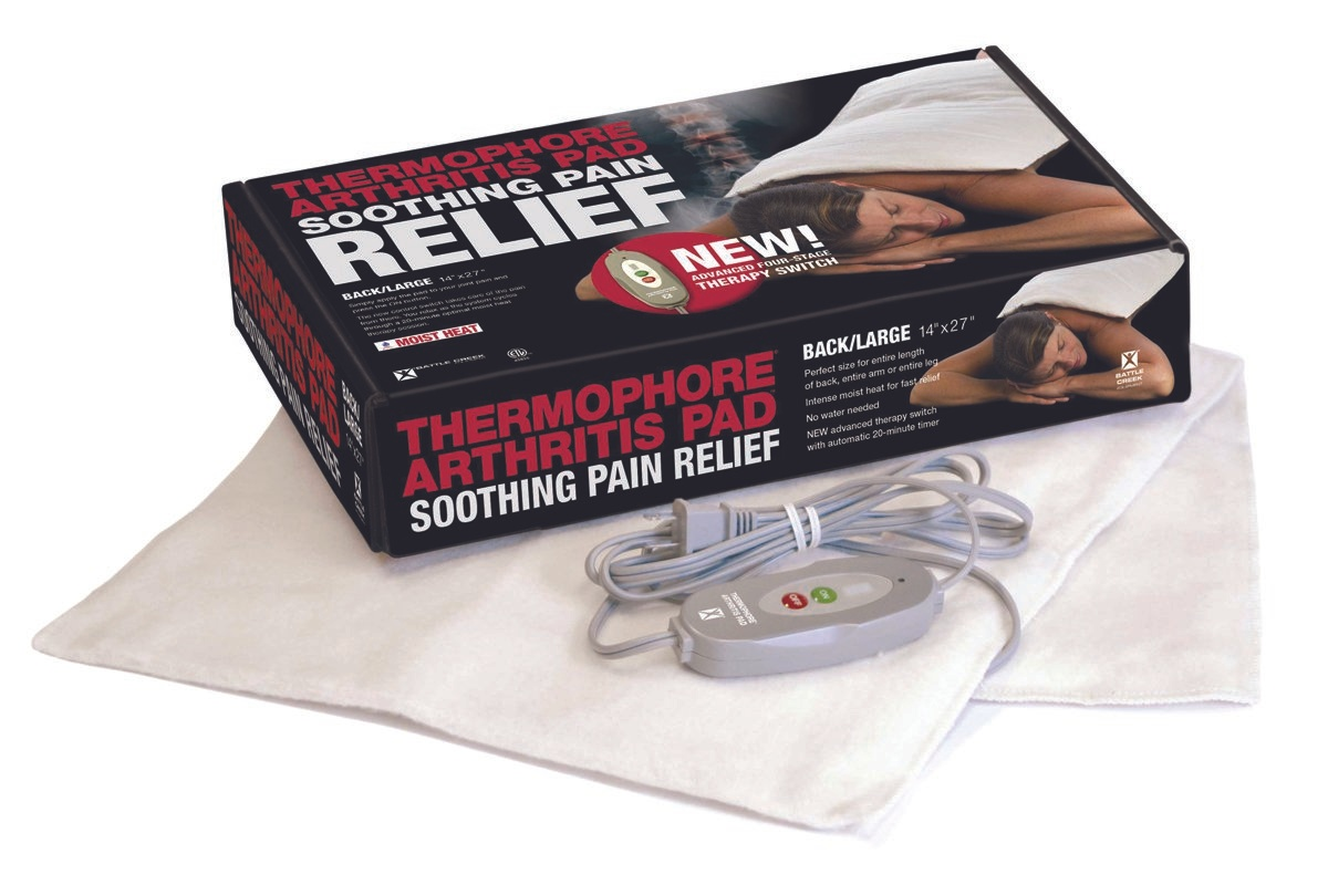 Thermophore MaxHEAT Soothing Pain Relief Arthritis Heating Pad, 156, 14 X 14 - 1 Each