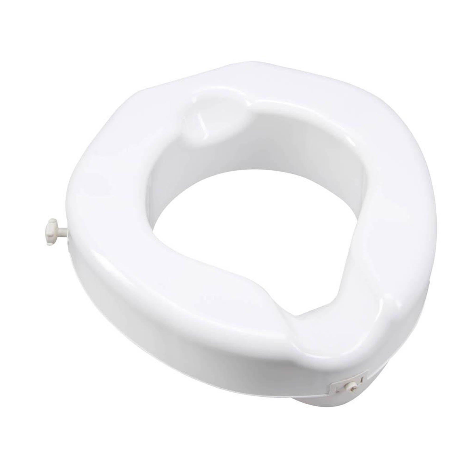 Carex Bariatric Safe Lock Raised Toilet Seat, FGB31300-0000, 1 Each