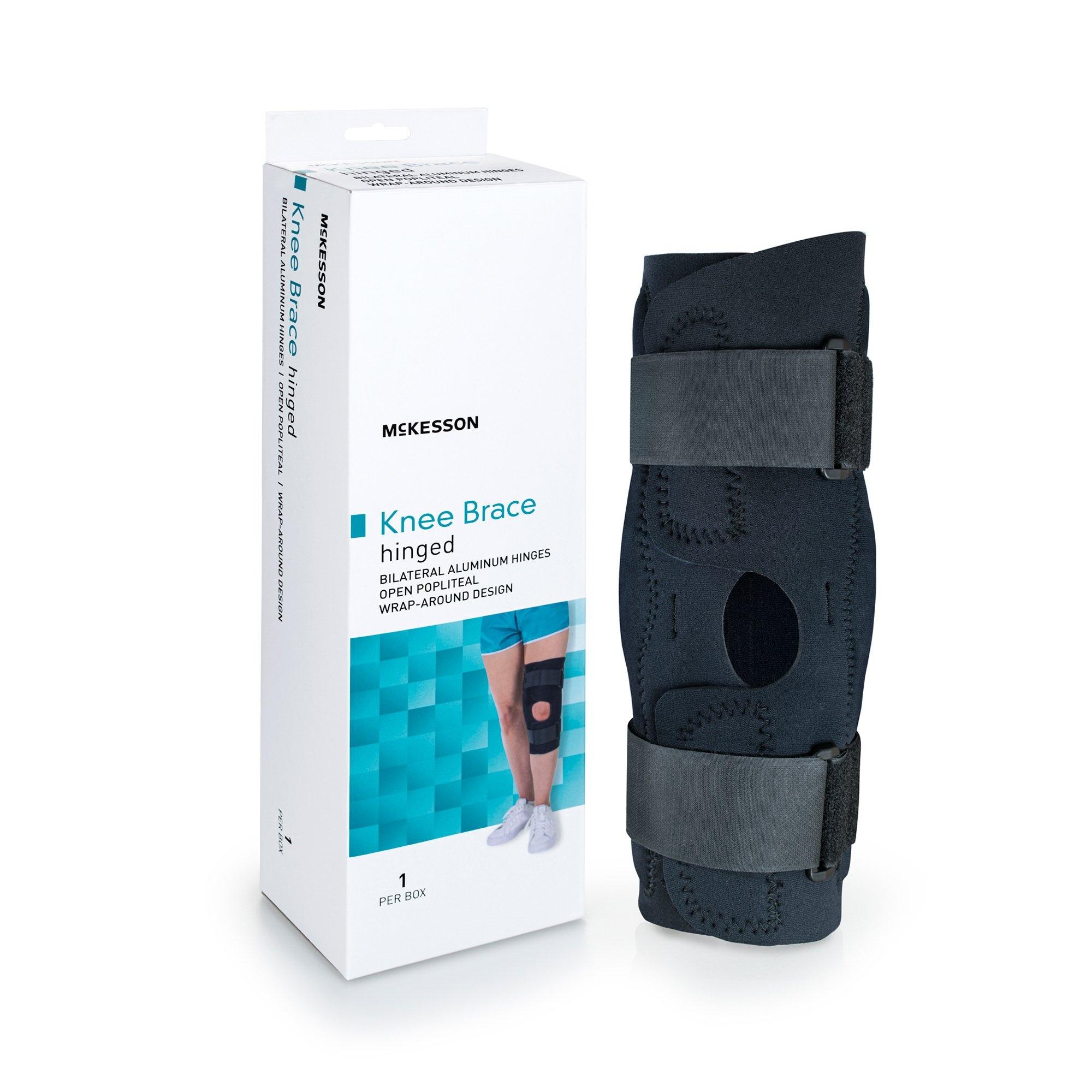 """McKesson Hinged Knee Brace, 155-81-82397, Large (20.5-23"""") - 1 Each"""