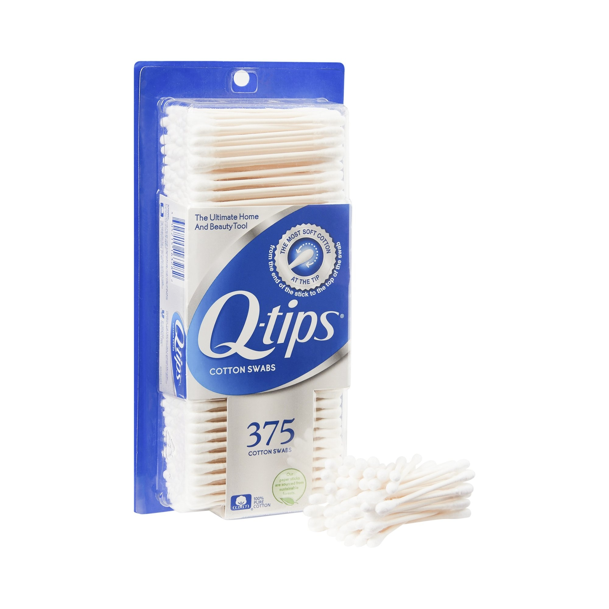 Q-Tip Cotton Swabs, 30521516328, Pack of 375