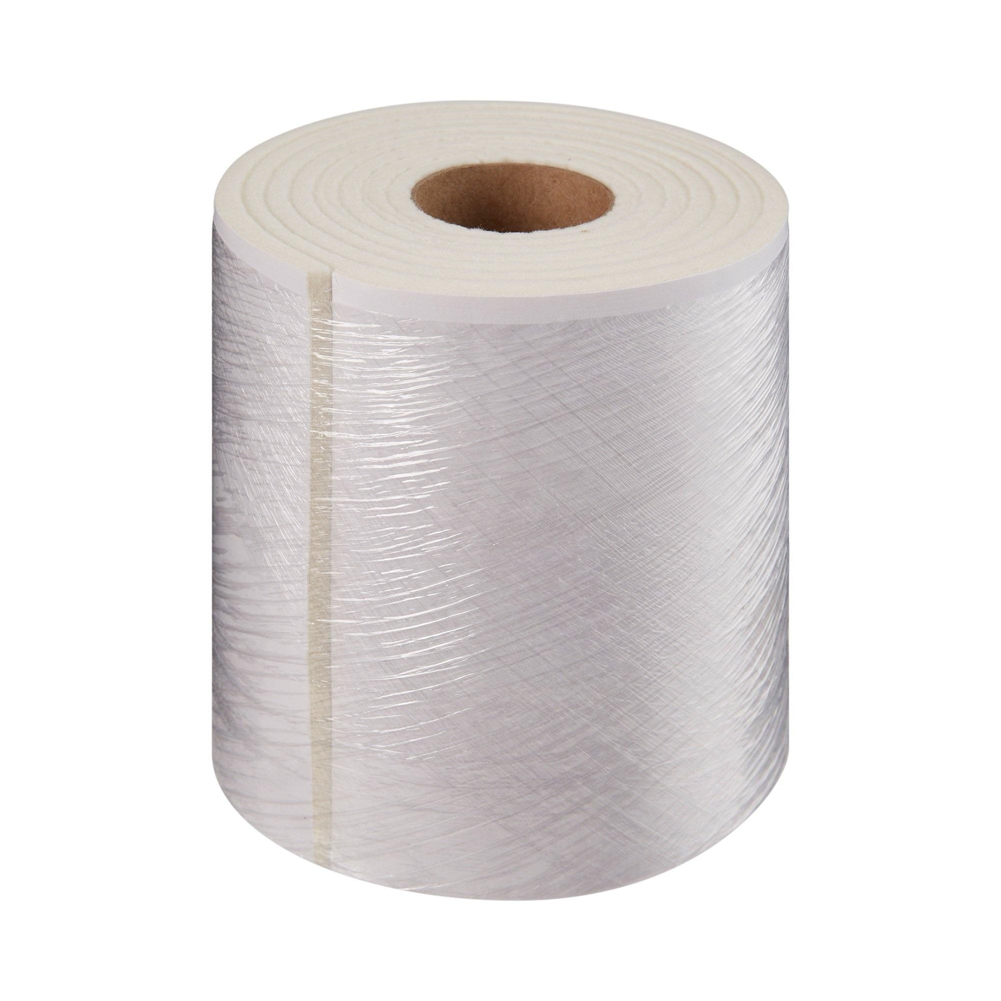 "McKesson White Wool/Rayon Adhesive Orthopedic Felt Roll, 6"" x 2.5 yd, 9229, 1 Roll"