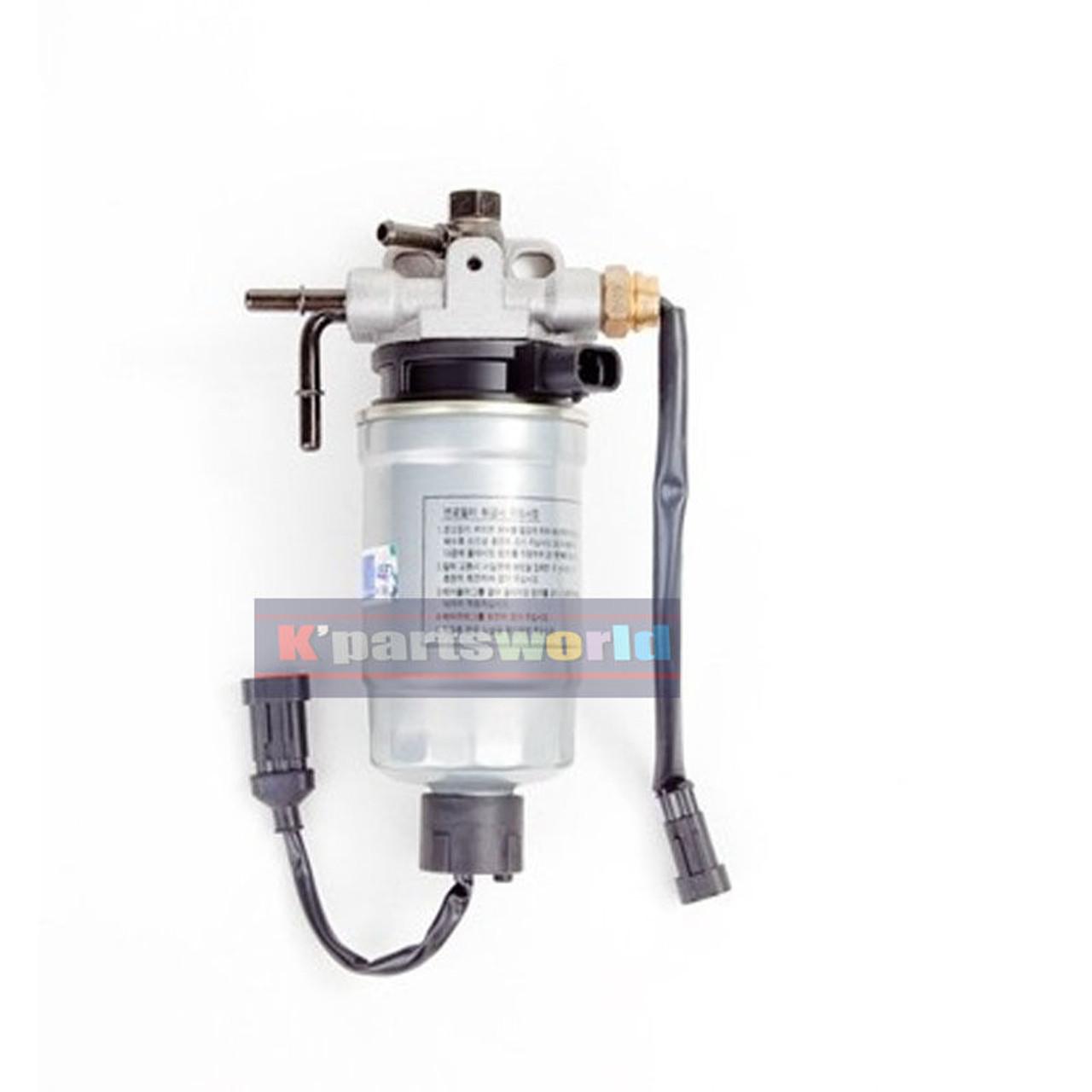 fuel filter water separator assy 319703e10a 31970 3e10a for kia sorento 2004~09 Kia Sorento Center Console Right