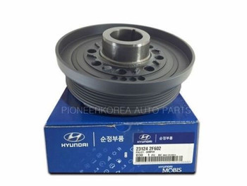 Genuine Damper Pulley 231243C100 23124 3C100 for Hyundai Grandeur Azera 2001-06