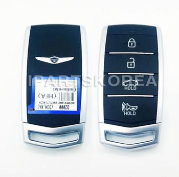 4 Button Smart Key FOB 95440D200NNB 81996D2000 for Hyundai Genesis G80 2016-17