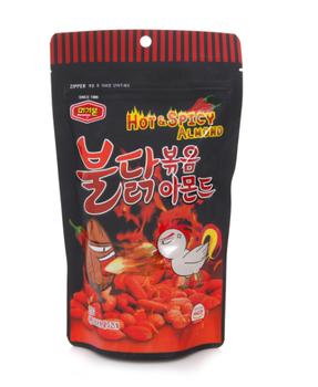 Korea Brand Hot& Spacy  Almond nets (210g)