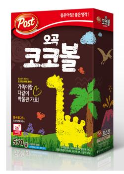 Korea Brand Ogok Cocobol cereal  ( 570g)