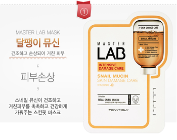 Korea Brand Tonimori master mask sheet(22ml*10EA) 220ml