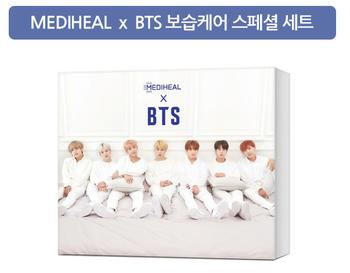 Korea Brand Medihill BTS moisturizing care Mask(25ml*10EA) 250ml