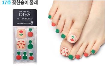 Korea Brand Etude House Magic Press Padicure N17( 1EA)