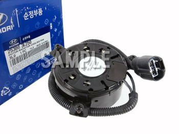 Genuine 253802M600 Radiator Cooling Fan & Motor for Hyundai Genesis Coupe 2012-