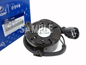 Genuine 253861E000 Radiator Cooling Fan Motor for Hyundai Verna 2006-