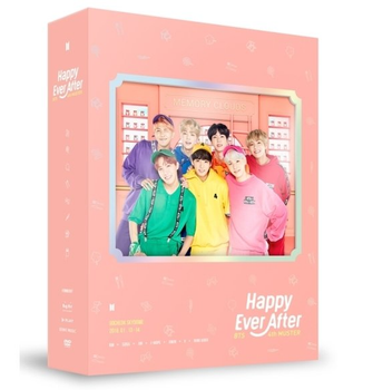 Korea BTS 4TH Muster Happy Ever After (3DVD+Photo Book+Post Card+Photo card by DHL