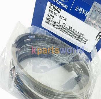Genuine Ring Set-Piston 2304002946 for Kia Morning 2008-2010