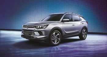 SSANGYONG MOTOR BRAND NEW SUV KORANDO C3 DIESEL WITH IACC SYSTEM 2020 136HP