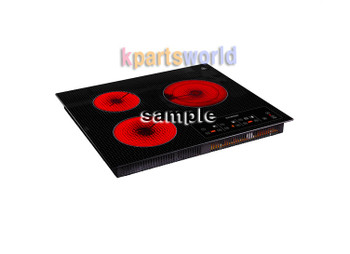 Korea Brand New 3 hole Induction Electric ranger for Cook 220 Voltage