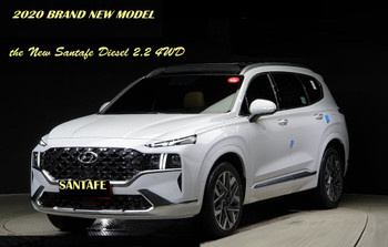 2020 BRAND NEW MODEL HYUNDAI THE NEW SANTAFE VEHICLE  DISEL 4WD