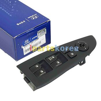 935702H1109P New Power Window Switch Left LH For HYUNDAI ELANTRA HD 2007-2010