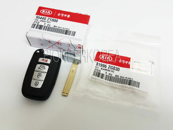 954403W500 95440 3W500 Smart Key Keyless entry remote Fob for 2014 New Sportage