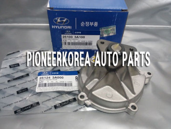 Water Pump Assy 251003A100 2521243A000 with Gasket for Kia Mohave Borrego