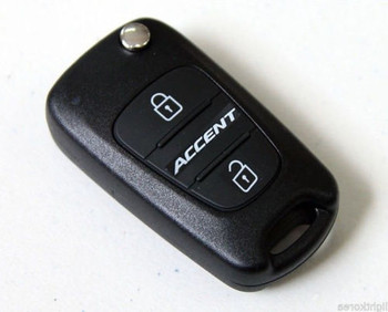 Keyless Entry Remote Folding Key 954301R100 For Hyundai Accent 2011-16