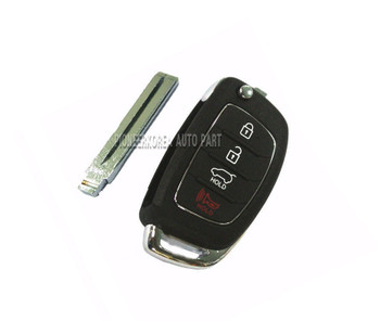 Folding Key Keyless entry remote 954402S700 for Hyundai Tucson ix 2011~2012