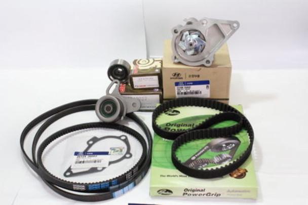 Water pump+Timing belt kit FOR HYUNDAI VERNA SOHC