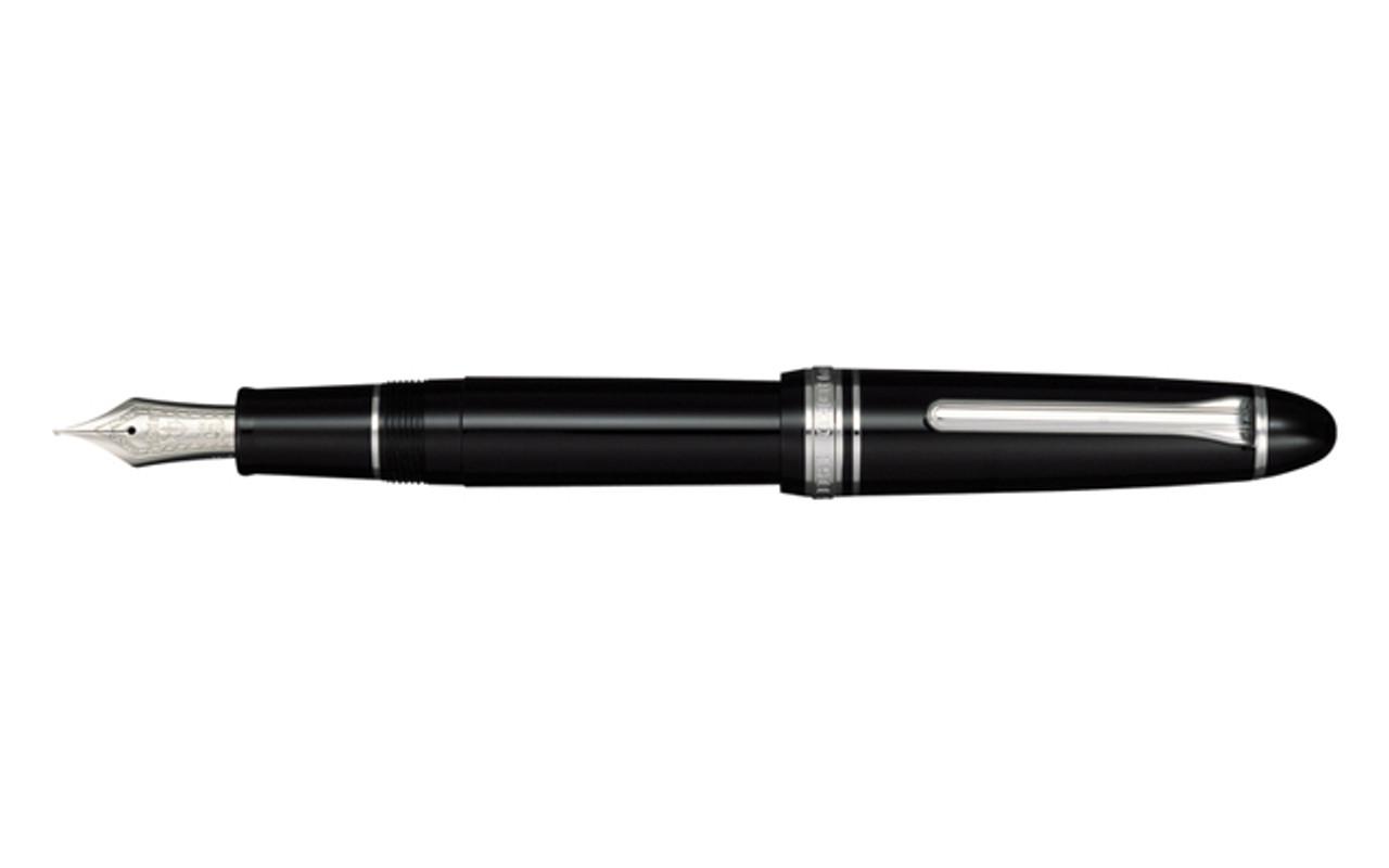 Sailor 1911 Large Size Series Black Silver Trim Fountain Pen