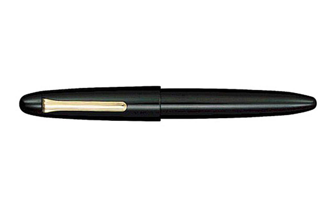 Sailor King Of Pen Black Urushi Fountain Pen